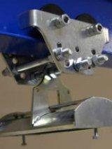 Кабельная тележка одинарная под трос 6-8мм(металл)