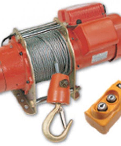 Электрическая лебедка CWG-10077(г/п 300кг, в/п 60м)