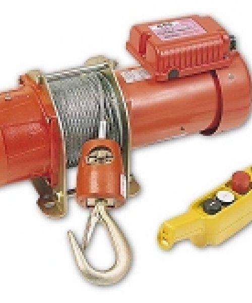 Электрическая лебедка CWG-30075(г/п 300кг,в/п до 30м)