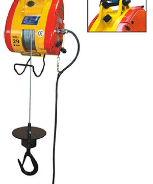 Электрическая мини лебедка KIO-300L