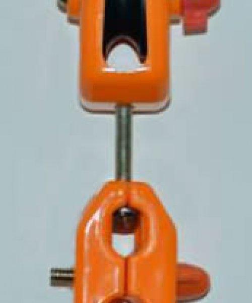 Кабельная тележка одинарная под тросс 6-8мм(пластмасс)