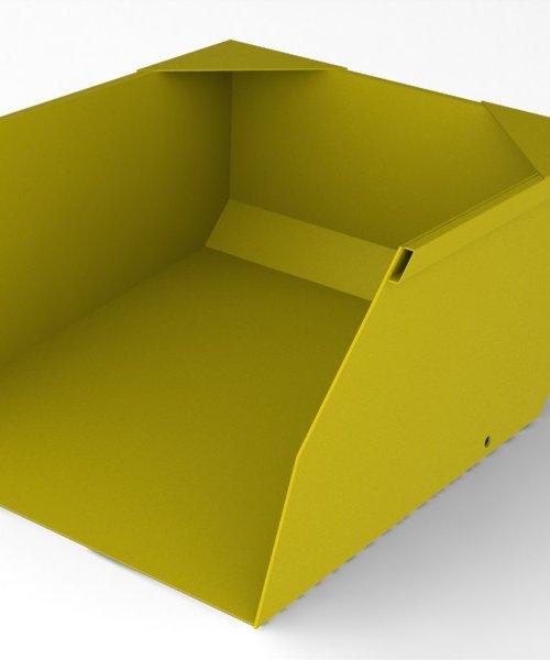 Ковш для вилочного погрузчика 1.5 т для объема 0.5 м^3