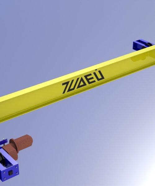 Кран мостовой электрический однобалочный опорный - Грузоподъемность (6,3 т)
