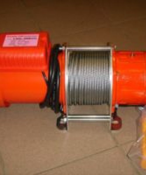 Лебедка электрическая канатная KDJ 200E(г/п 200кг, в/п 30м)