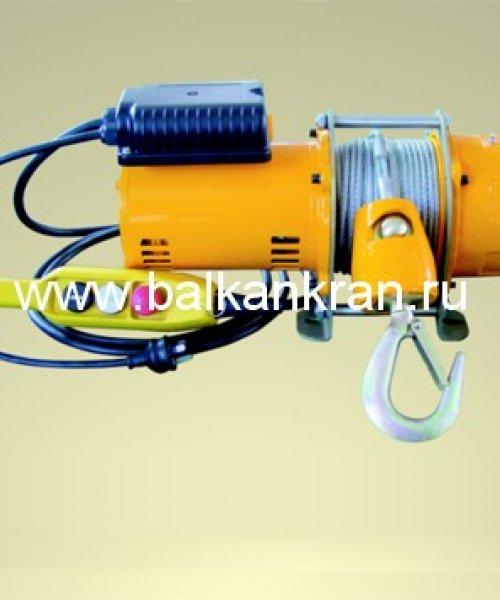Лебедка электрическая канатная KDJ 250E(г/п 250кг, в/п 30м)