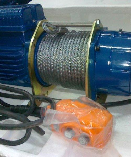 Лебедка электрическая канатная KDJ 300E(г/п 300кг, в/п 30м)