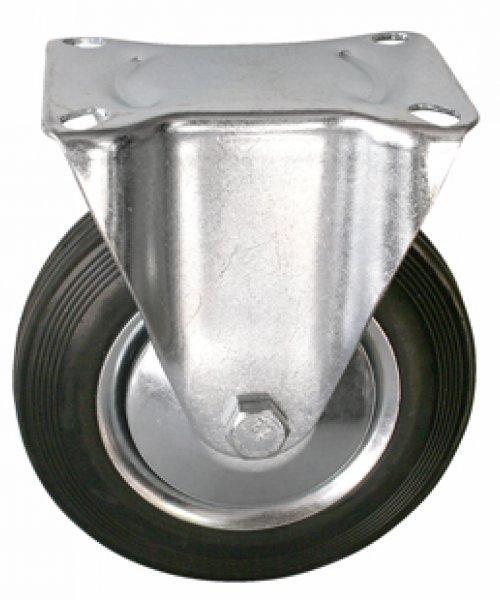 Промышленное колесо с черной резиной PRK4RNP