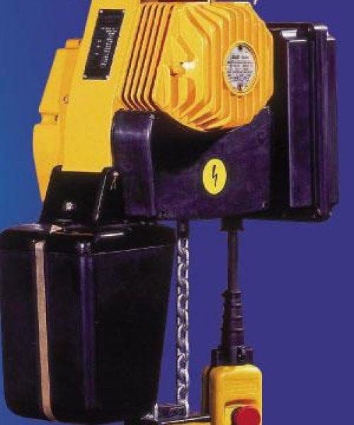 Таль электрическая цепная передвижная серии ВЕ092М г/п 250кг В/П от 3,2-12м