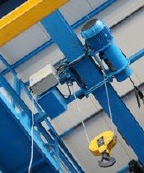 Тельфер электрический Уменьшенной строительной высоты  Т45 г/п 5т в/п от 6-12м